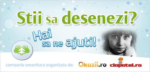 De Craciun, ajuta copiii nevoiasi - o campanie Clopotel.ro si Okazii.ro