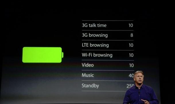 Autonomie iPhone 5S