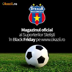 Magazinul Suporterilor Stelişti  Magazin Oficial FC Steaua Bucureşti vine de Black Friday  pe Okazii ro300x300